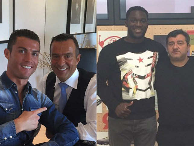 Meet Mino Raiola and Jorge Mendes, the most powerful agents