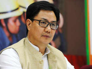 """Minister of State for Home Kiren Rijiju emphasised that the government is open to talks with all insurgent groups which are """"sincere"""" in their intention to give up arms."""