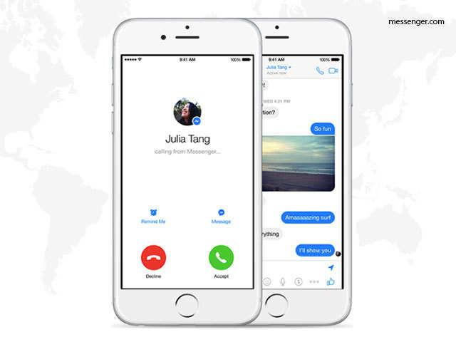Video calls - Features that make Facebook Messenger hot