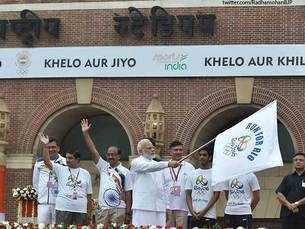 Run for Rio:PM Modi wishes luck to Rio-bound Indian athletes