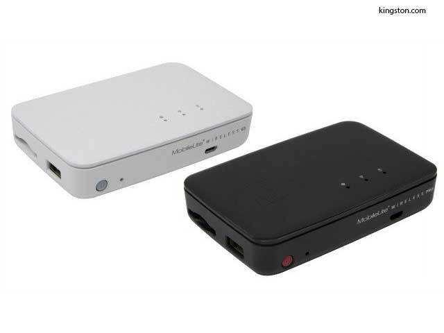 buy popular 0bafd 05489 Kingston MobileLite Wireless Pro: A power bank cum hard drive - A ...