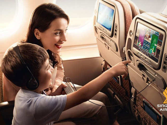 Singapore Airlines is now offering KrisWorld, a new in-flight entertainment system that comes with a companion app.