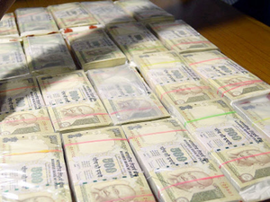 """""""As per the study, the face value of FICN in circulation was found to be about Rs 400 crore,"""" Minister of State for Finance Arjun Ram Meghwal said."""