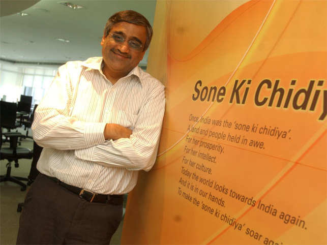 Future Consumer Enterprises Limited employees presented plans on its brands, giving them a chance to run an entrepreneurial setup within the company.  (In pic: Kishore Biyani, CEO, Future Group)