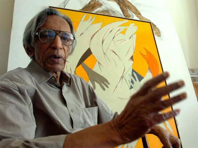 Tyeb Mehta (in pic) , in the later part of his life, started leaning towards non-fiction work, which brought in new hues to his art undoubtedly.