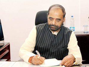 """Minister of State for Home Affairs Hansraj Ahir said, """"No such proposal is under the consideration of the government."""""""