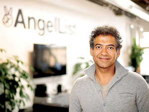 """We are exploring the regulatory area more than anything. There are many regulatory roadblocks right now,"" said AngelList founder Naval Ravikant (in picture)."