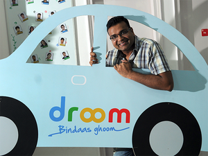 """""""We want to increase the sense of pride and lower the anxiety in the mind of a customer when they plan on buying a used vehicle,"""" said Sandeep Aggarwal, CEO of Droom."""