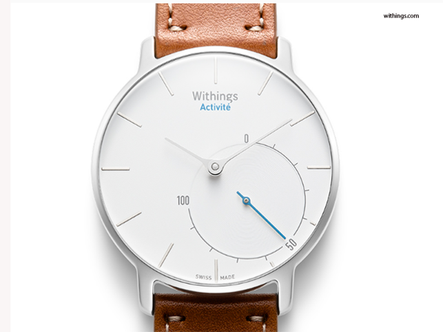 The company has launched a range of products in India and among them is the Activité. This is a smart watch that tracks your daily activity, exercise and sleep.