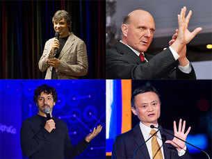 Forbes' list of world's 10 richest tech billionaires