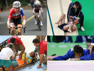 Rio Olympics: The retired-hurt list
