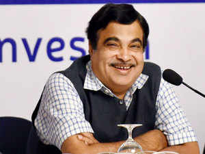 """""""Waterways will prove to be UP's growth engine,""""  Gadkari said after the launch of the vessels."""