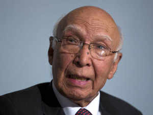 Sartaj Aziz said that Pakistan consistently supported the CTBT and voted for it when it was adopted by the UN General Assembly in 1996.