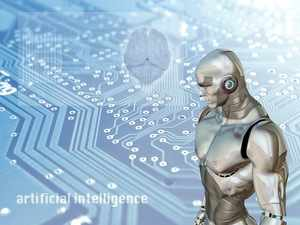 Can Artificial Intelligence become intelligent enough to ward off cyber threats? (Image source:  ANNECORDON)