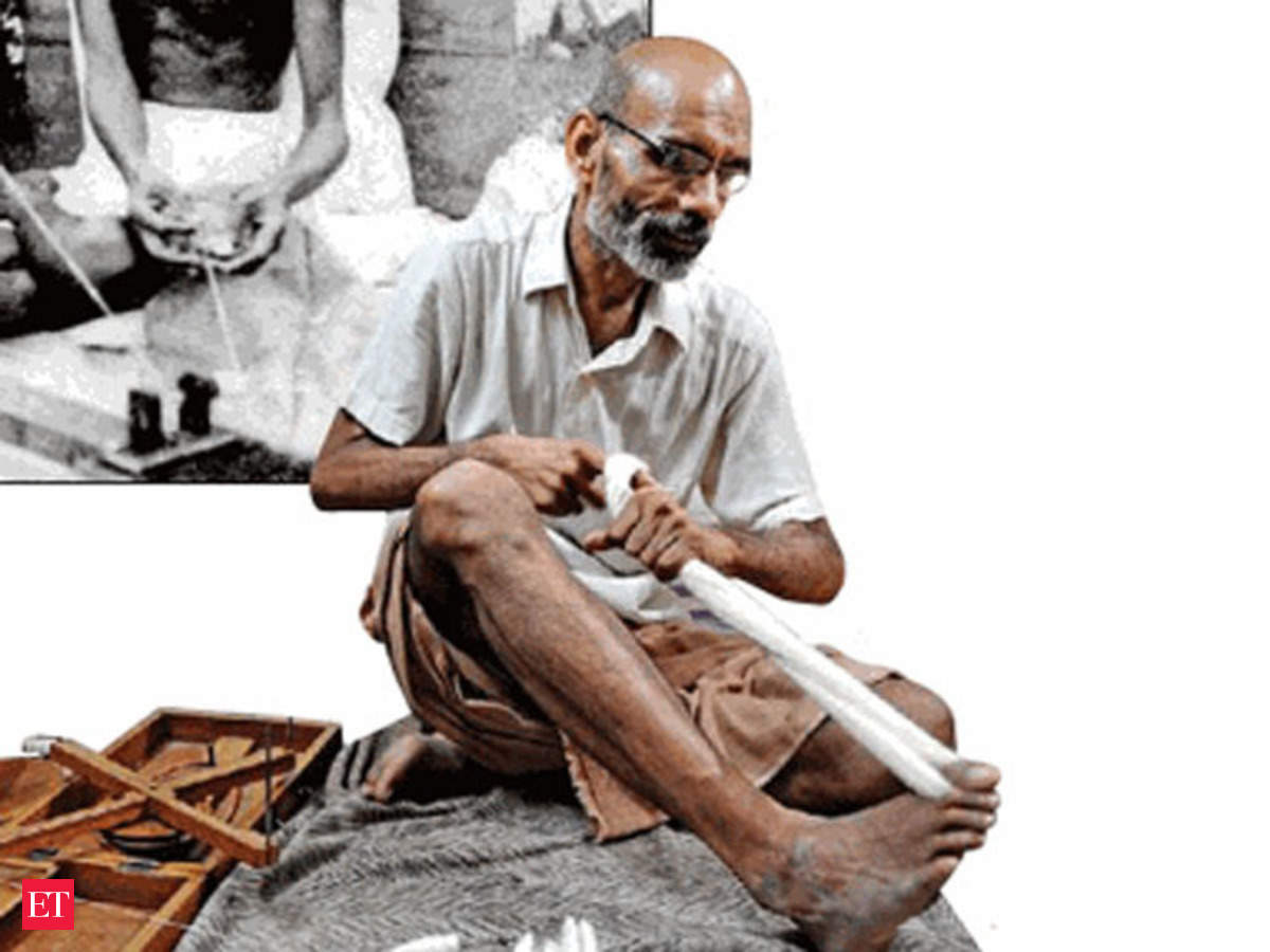 Seventy years since Independence, wheels of the charkha