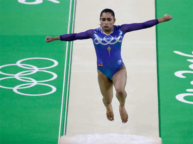 Her fourth position at the women's vault final on the eve of India's 70th Independence Day set the social media platform abuzz.
