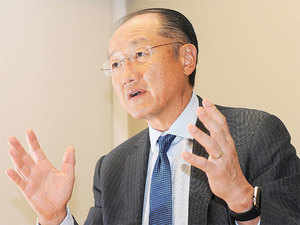 DIPP is now gathering its own evidence for cases where it feels respondents have not have kept in mind the assumptions made by the World Bank study.  In pic:  Jim Yong Kim, President, World Bank