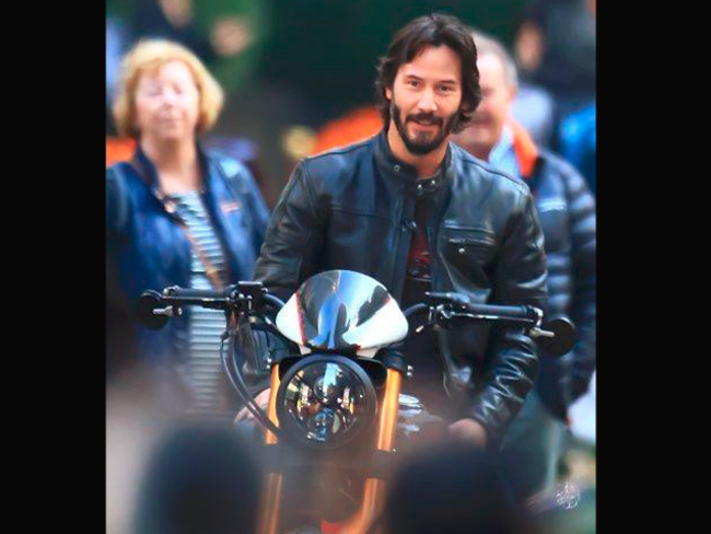 Keanu Reeves will build a $78,000 motorcycle just for you - The Economic  Times