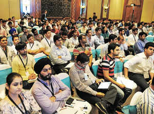 This year, Conquest, witnessed a participation of more than 1200 startups from varied sectors, ranging from  Healthcare and  Social Enterprises to Internet of Things and even Virtual Reality. (Representative image)