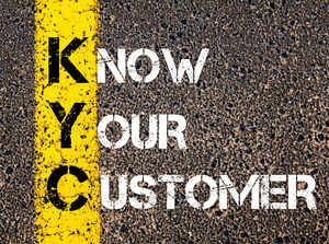 The idea is to streamline the KYC process and avoid duplication of KYC for customers at multiple agencies. (Image source:  stanciuc)