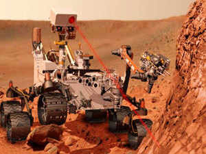 The image was acquired by the Mast Camera (Mastcam) on as the rover neared on lower Mount Sharp on Mars, during the afternoon of the mission's 1,421st Martian day.  Representative Image.