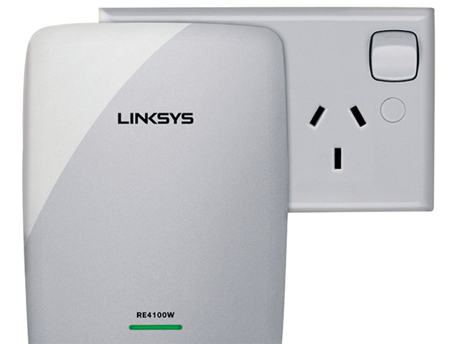 An easy way out is a WiFi Range extender. Linksys N600 is a compact WiFi range extender that plugs into a wall outlet.