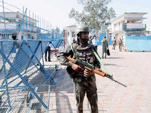 Terrorists who had sneaked from across the border had attacked Pathankot air base on the intervening night of January 1-2 while Dinanagar in Gurdaspur was targeted on July 27 last year.