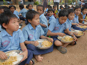 Out of the 23.42 crore people without an Aadhaar till date, 21.71 crore are children. Over 11 crore children get mid-day meals at schools.