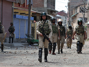 Curfew has also been clamped in Khansahib town of Budgam district of central Kashmir as a precautionary measure.