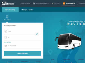 Mobikwik coupons for bus tickets