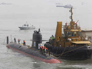 While the first submarine was to be delivered by December 2012, it only hit the water in October 2015 and is now to be inducted in October this year.