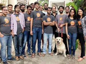Team Postman with the founders