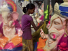 Preparations for Ganesh Chathurti