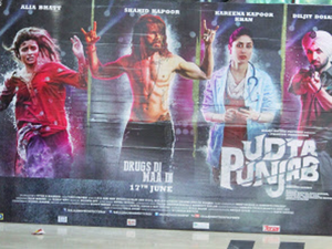 In pic: A poster of Udta Punjab.  Many in the film industry said that Balaji Telefilms may decide to shut the film business, like Disney India.