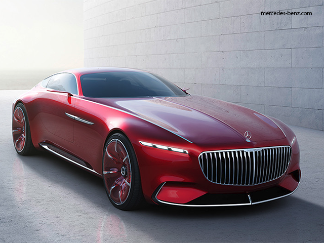 The 6 Meter Long Car Mercedes Maybach 6 The Car Of Your Dreams
