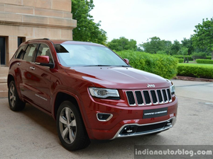 The Grand Cherokee costs Rs 93 lakh to Rs 1.14 crore.