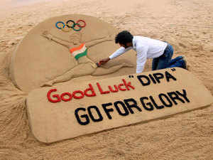 Sudarshan Pattnaik's sculpture has got 60,000 votes out of the total 80,000 votes from the visitors to the exhibition, according to a letter by the event's organiser Pavel Minilkov.