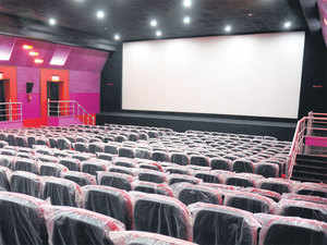 PVR lords over the market with 553 screens across 47 cities.