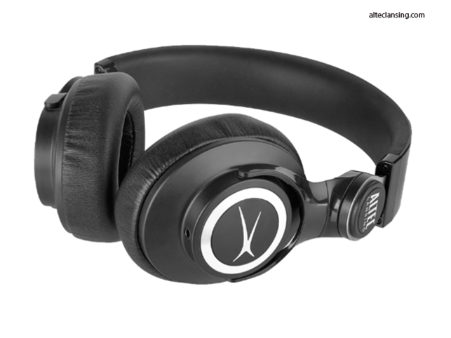 The headphones have a comfortable on-ear design, which makes them great for long hours of use.