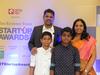Girish Mathrubootham with his family