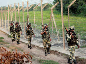 The spokesperson said the Pakistan army also shelled posts with heavy mortars and opened fire with small arms and automatic weapons in the Poonch sector