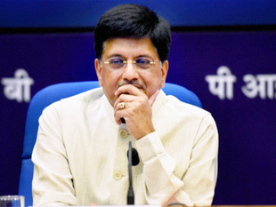 Power Ministry spent Rs 18.86 lakh for improving the visitor space in minister Piyush Goyal's office.
