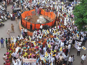The samiti plans to take out a big morcha to Vidhan Bhavan and hold a massive sit-in agitation during the winter session of Maharashtra Legislature held every year in Nagpur.