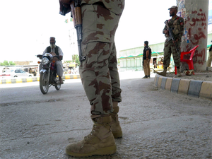 The threat to the corridor comes from Balochi nationalists who have targeted the project.  Image: EPA