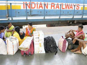 The Indian Railways carry two crore passengers every day and according to industry estimates, advertisers-mostly driven by ecommerce and auto companies.
