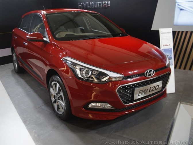 hyundai launches elite i20 automatic priced at rs lakh the economic times. Black Bedroom Furniture Sets. Home Design Ideas