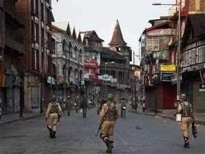 The troops, mobilised from reserves have fanned out in all the four districts of South Kashmir--Pulwama, Shopian, Anantnag and Kulgam.