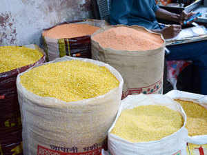 In wholesale, toor/arhar dal in Delhi was selling for Rs 98 a kg, while government data said it was at Rs 115 and retail prices at over Rs 160 a kg.