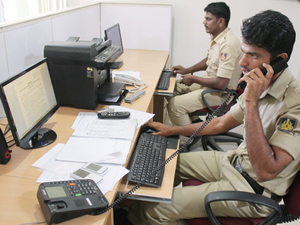 Five constables, with a laptop each, make up the Bengaluru Police social media control room.