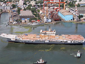 """Indian navy has set the target of having 212 ships in its fleet by 2027 which will be a """"real challenge"""" and there is a need to work """"very hard"""" for it, Vice Admiral (Controller Warship Production and Acquisition) G S Pabby told reporters."""